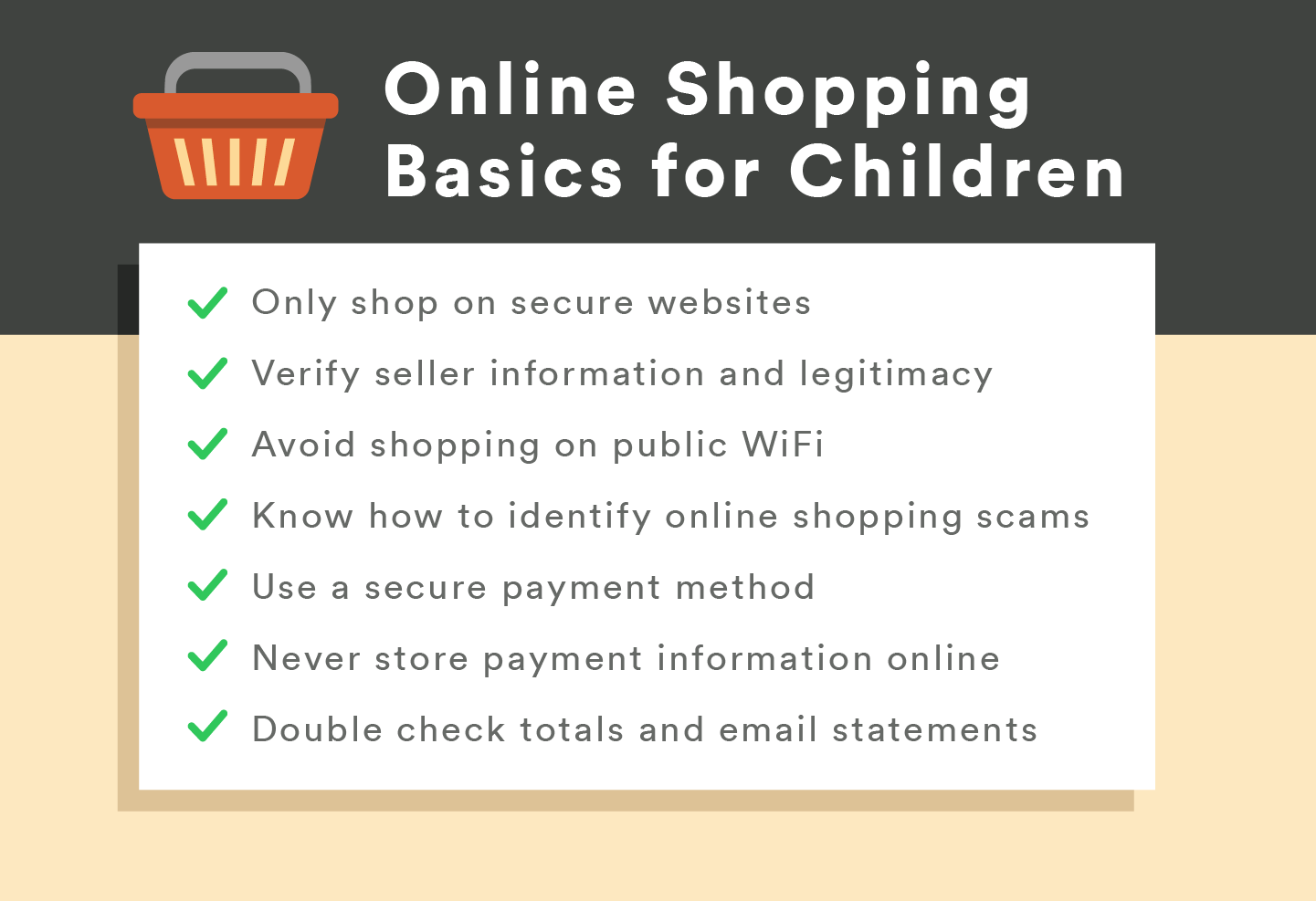 The Parents' Guide to Online Shopping Safety - Wikibuy